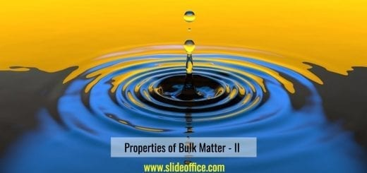 properties of bulk matter