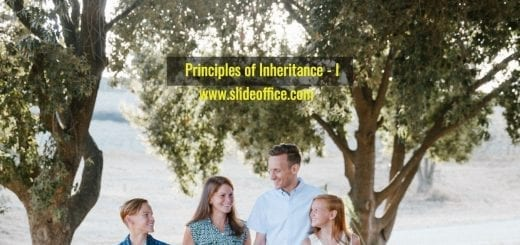 Principles of inheritance