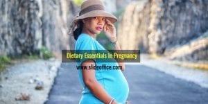 Dietary Essentials In Pregnancy